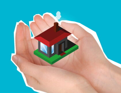 mortgage a house