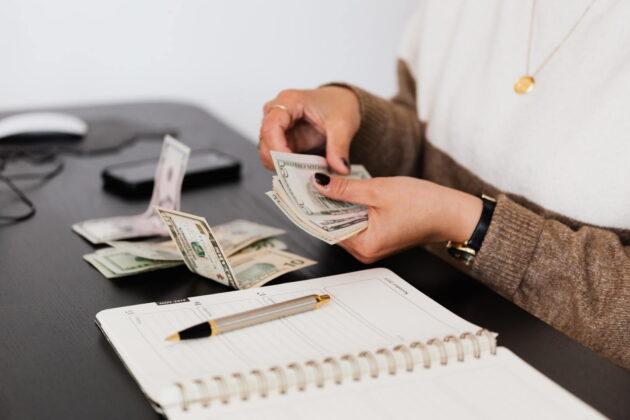paying money