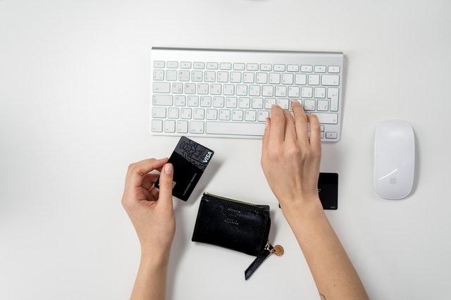 keyboard and card